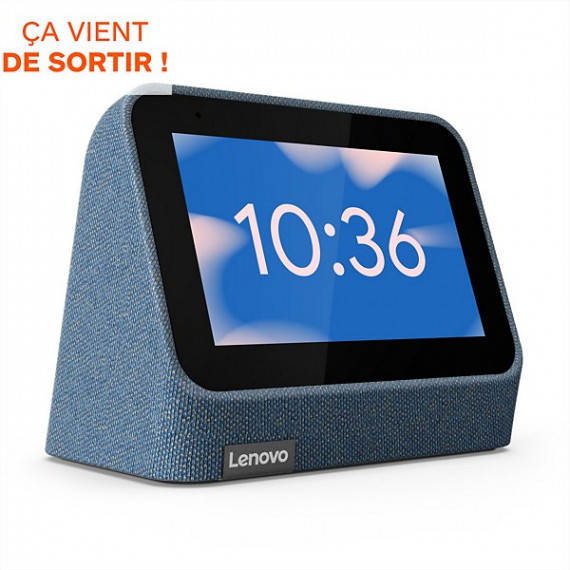 LENOVO SMART CLOCK 2 BLEU