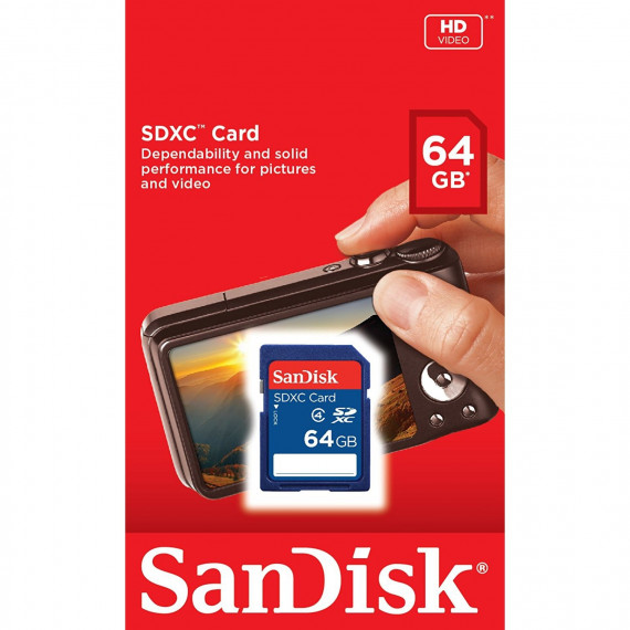 sandisk CARTE SDXC 64GB REFRESH