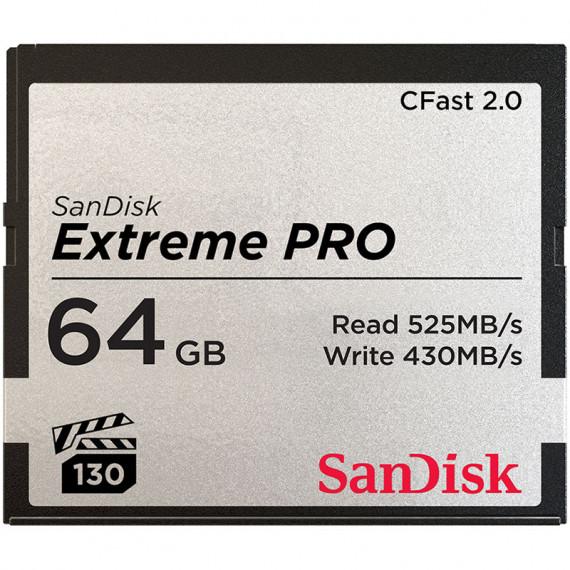 sandisk SanDisk Carte mémoire Extreme Pro CompactFlash CFast 2.0 64 Go