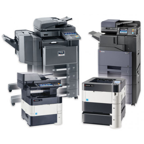"""Kyocera Multifonction couleur A3, 32 ppm, 1200 dpi, Ecran tactile 10,1"""", 2 x 500 f., by-pass 150 f., recto verso"""
