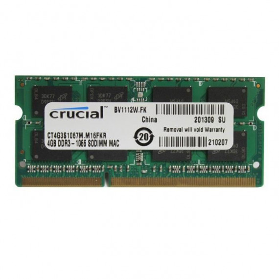 CRUCIAL SO-DIMM 4Go DDR3 1066 for MAC CT4G3S1067M