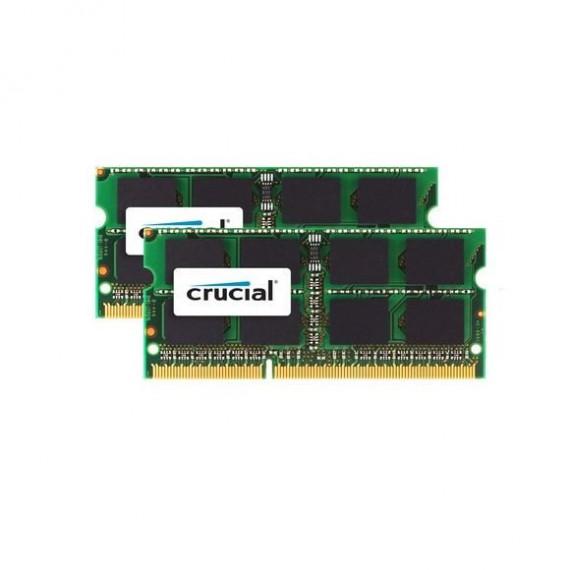 CRUCIAL 16 Go 2x8 Go, 1333 Mhz CL9