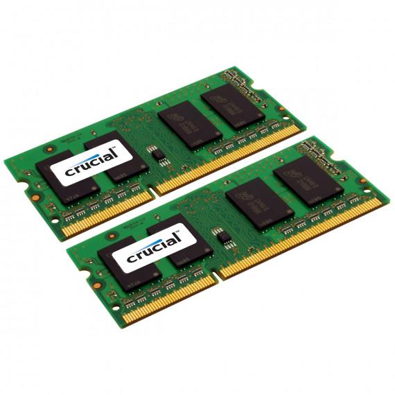 CRUCIAL SO-DIMM 8 Go (2 x 4 Go) DDR3 1600 MHz CL11