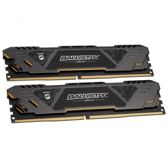 CRUCIAL Ballistix Sport AT  DDR4-2666  CL16 - 16 Go double-Kit