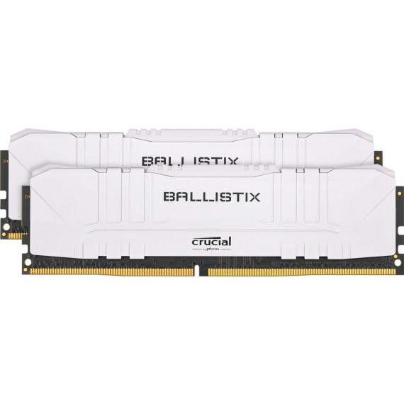 Ballistix White 16 Go (2 x 8 Go) DDR4 3200 MHz CL16