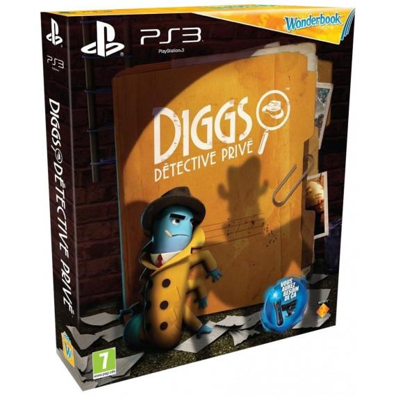 Sony Computer Entertainment Wonderbook - Diggs : Détective privé + Wonderbook (PS3)