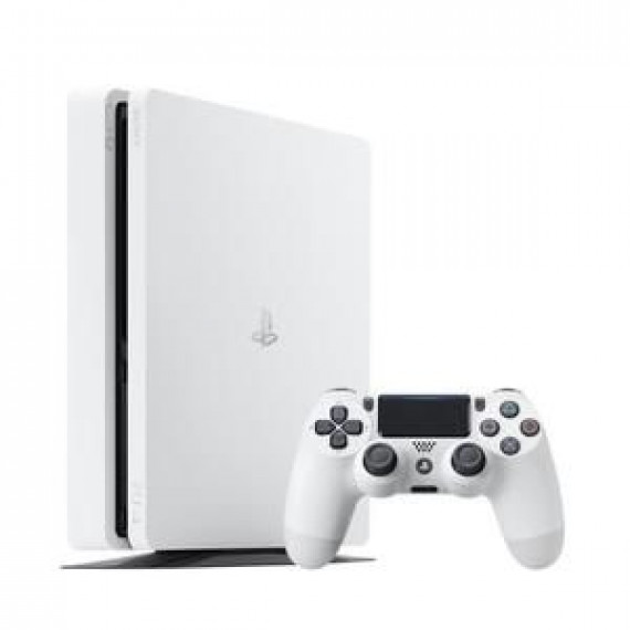 SONY Console PS4  Slim 500Go Blanche