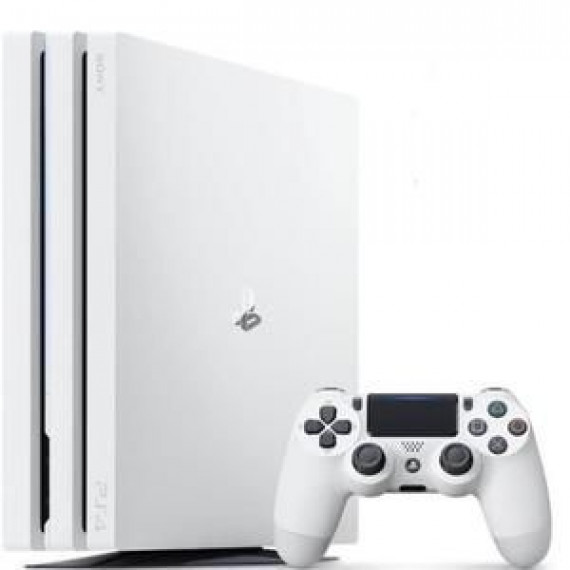 SONY Console PS4  Pro 1TO Blanche