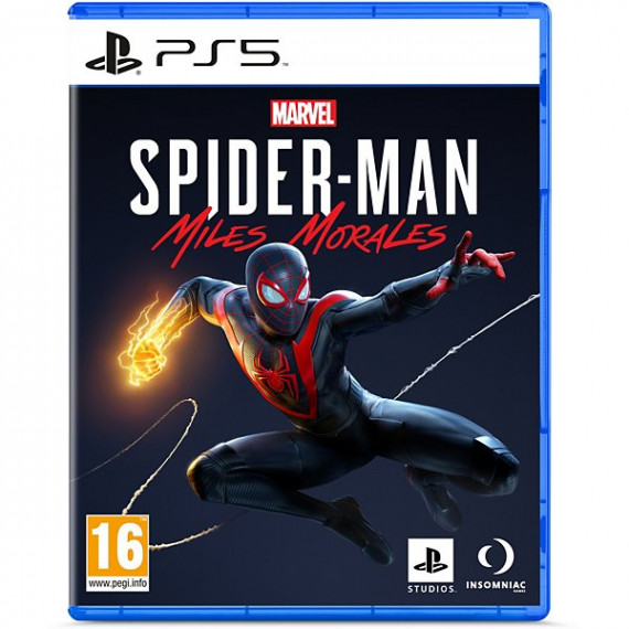SONY Jeu PS5  Marvel's Spider Man Miles morales