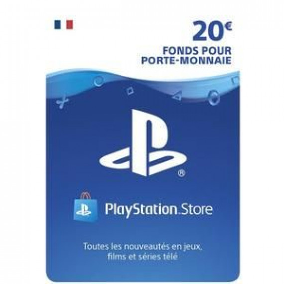 SONY Accessoire  Carte 20 euros Playstation Network