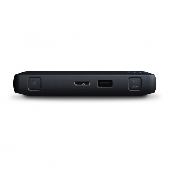 WESTERN DIGITAL WD My Passport Wireless Pro 1 To Noir (Wi-Fi/USB 3.0/SD-Card)