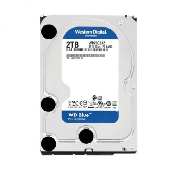 WESTERN DIGITAL HDD Desk Blue 2TB 3.5 SATA 256MB