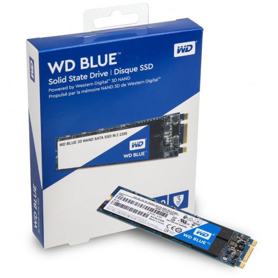 WESTERN DIGITAL 3D Blue M.2 SSD  SATA 6G - 250 Go