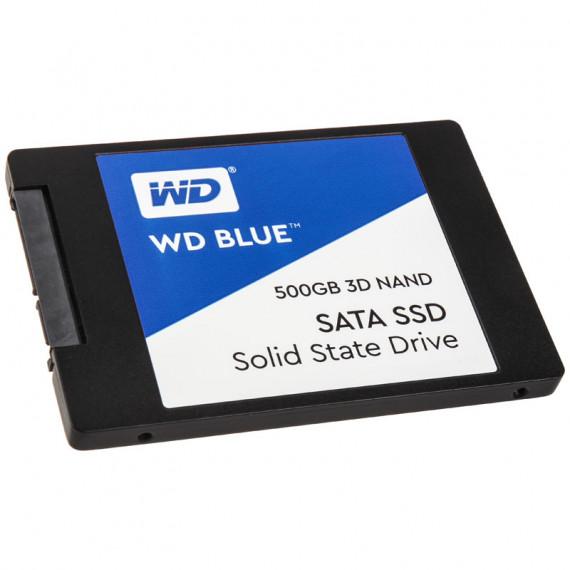 WESTERN DIGITAL 3D Blue 2 5 pouces SSD  SATA 6G - 500 Go