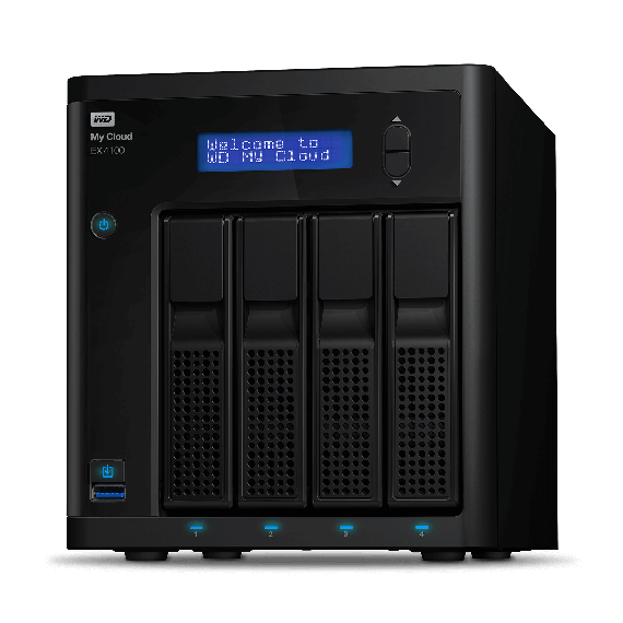WESTERN DIGITAL WD My Cloud EX4100 40To NAS 4-Bay WD My Cloud EX4100 40To NAS 4-Bay person. Cloud storage incl WD Red drives 1.6GHz Marvell ARMADA 388 dual-core proc. 2Go RAM