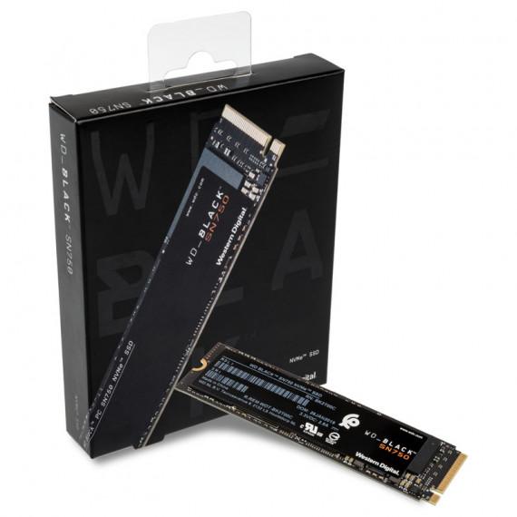 WESTERN DIGITAL SSD WD Black SN750 500 Go