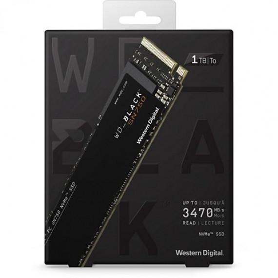 WESTERN DIGITAL BLACK SN750 NVMe 1TO