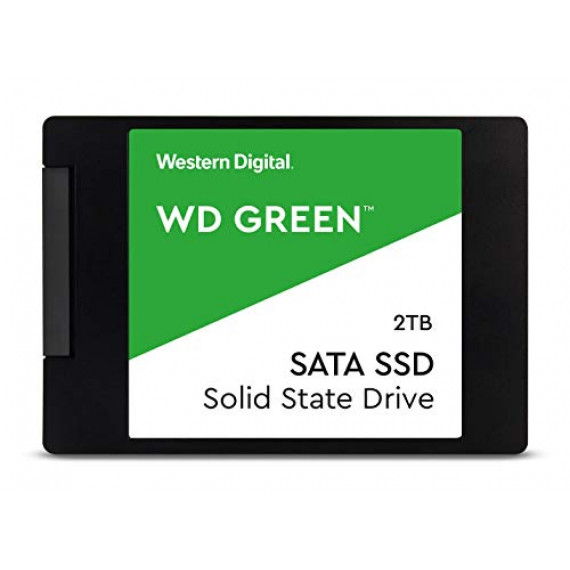 WESTERN DIGITAL WD Green SSD 2To 2.5p SATA/600 7mm WD Green SSD 2To 2.5p SATA3 7mm 3D NAND