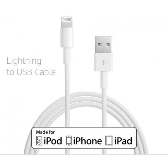 Accessoire Apple - Belkin Câble Lightning vers USB 3m - Câble de chargement et synchronisation pour iPhone / iPad / iPod certifié MFI