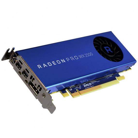AMD Radeon Pro WX 2100  2048 Mo GDDR5  2x mini DP  1x DP - Faible P