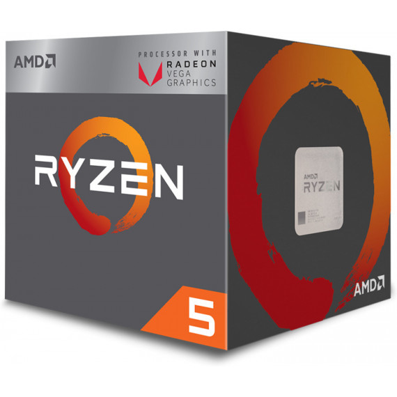 AMD Ryzen 5 2400G Wraith Stealth Edition (3.6 GHz)