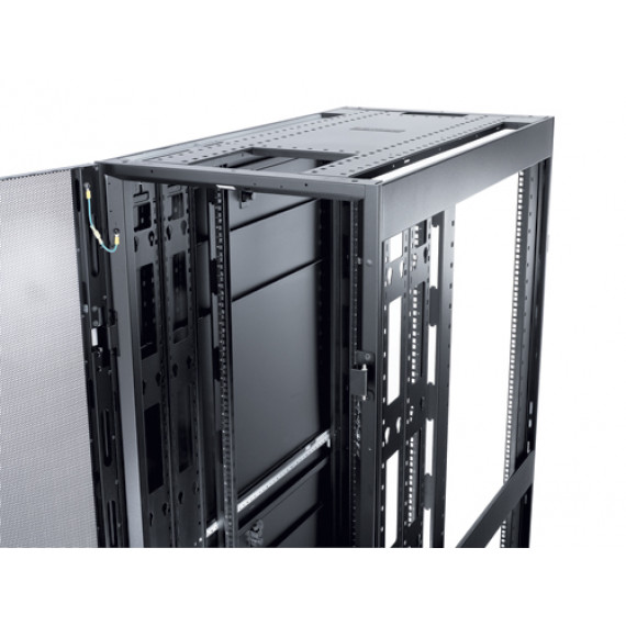 APC NetShelter SX 48U/600mm/120  NetShelter SX 48U/600mm/1200mm Enclosure with Roof and Sides Black