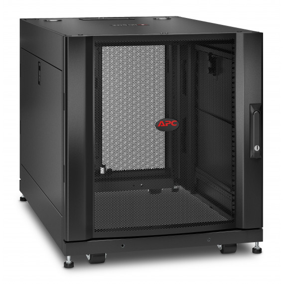 APC NetShelter SX 12U 600x900mm Sids Blk  NetShelter SX 12U Server Rack Enclosure 600mm x 900mm w/ Sides Black