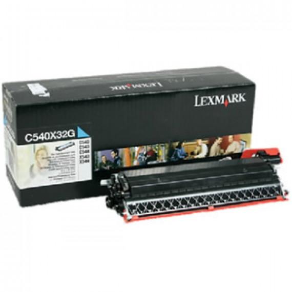 LEXMARK C54X/X54X DEVELOPPEUR C  C540, C543, C544, X543, X544 developper cyan capacite standard 30.000 pages pack de 1