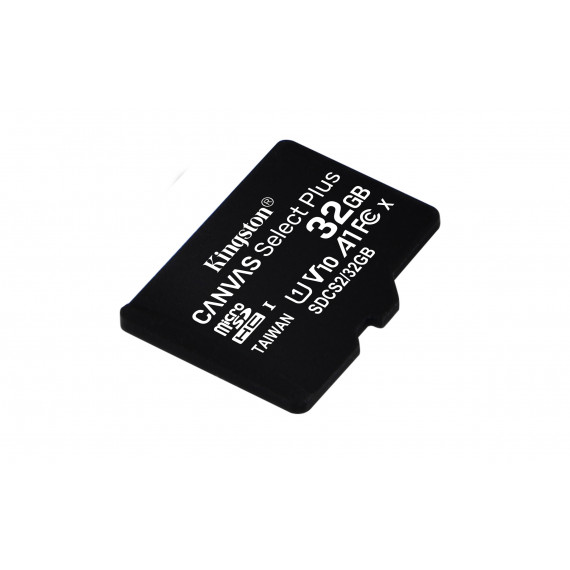 KINGSTON 32GB micSDHC Canvas Select Plus 100R A1 C10 Three Pack + Single ADP