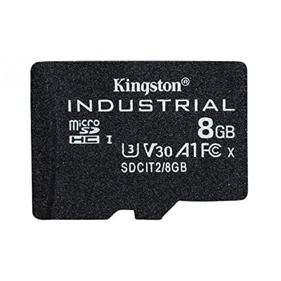 KINGSTON 8GB microSDHC Industrial C10 A1 pSLC