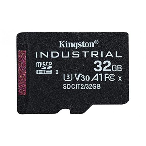 KINGSTON 32GB microSDHC Industrial C10 A1 pSLC