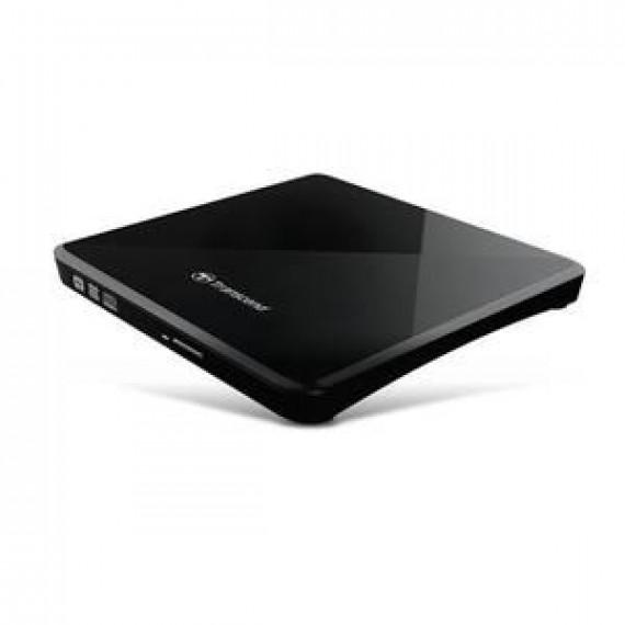 TRANSCEND 8X DVDSK Lecteur disque DVDñRW  8X DVDSK Lecteur de disque DVDñRW (ñR DL) / DVDRAM 8x/8x/5x USB 2.0 externe noir
