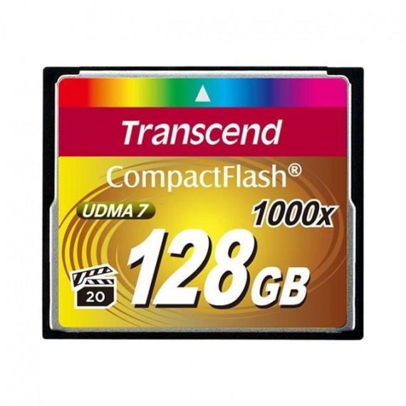 TRANSCEND CompactFlash Card 128 GB