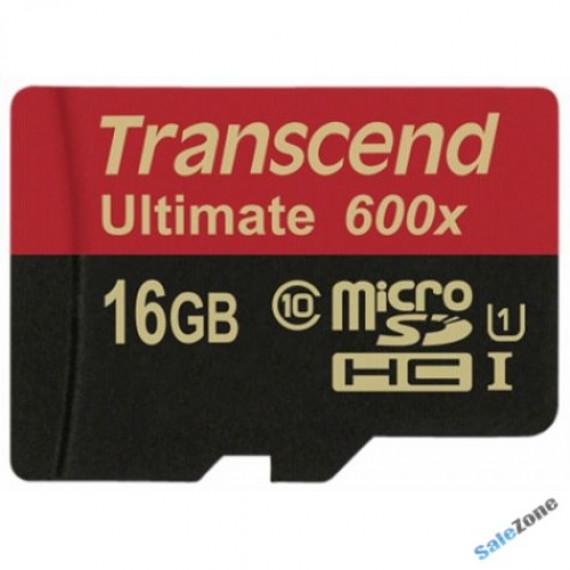 TRANSCEND microSDHC Card UHS-I Ultra 16 GB