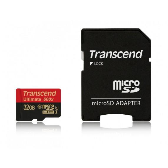 TRANSCEND microSDHC Card 32 GB Ultra