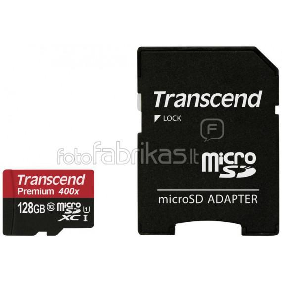 TRANSCEND Premium 128GB microSDXC-Karte