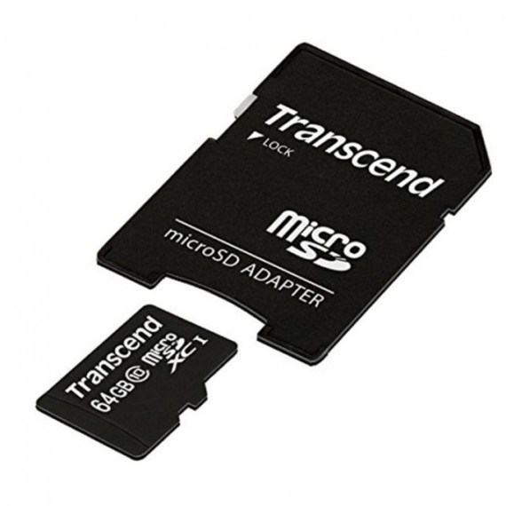 TRANSCEND 64 GB microSDXC