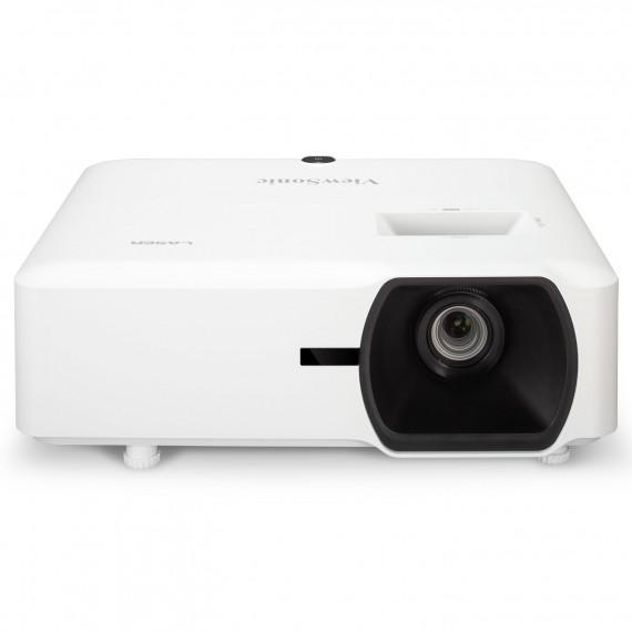 Viewsonic WUXGA (1920x1200), Laser Phosphore, 5000 lumens, contraste 3 000 000:1, ratio de projection 1.13-1.47, zoom optique 1.3x, compatible 3D, technologie exclusive SuperColor, trapèze H. et V., 2x HDMI, 1x VGA, 1x composite, 1 entrée audio, 1x RCA, 1