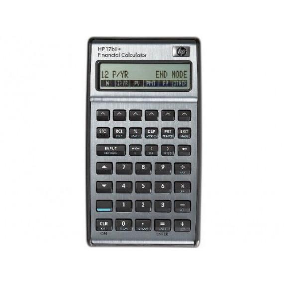 HP HP 17bII+ - Calculatrice financière HP-17BII PLUS