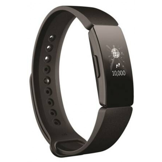Fitbit Bracelet connecté  Inspire HR Noir