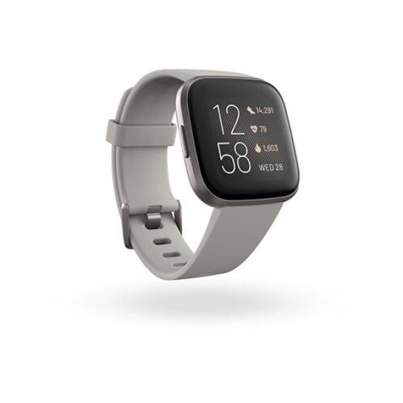 Fitbit Montre connectée  Versa 2 Gris Brume