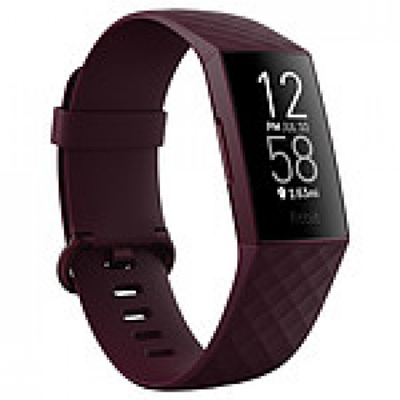 Fitbit Bracelet connecté  Charge 4 Bois de Rose