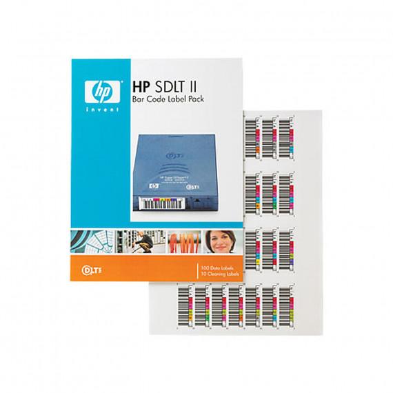 HP Q2006A - Étiquettes à code-barres Super DLTtape II
