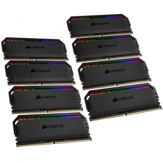 CORSAIR Dominator Platinum RGB 64 Go (8x 8Go) DDR4 3200 MHz CL16