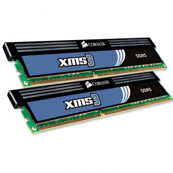 CORSAIR XMS3 8 Go (2x 4 Go) DDR3 1333 MHz CL9