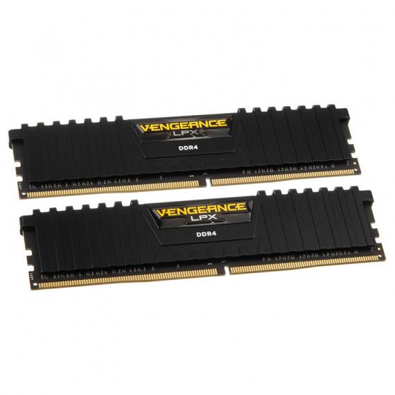 CORSAIR Vengeance LPX Series Low Profile 8 Go (2x 4 Go) DDR4 2666 MHz CL16 Noir
