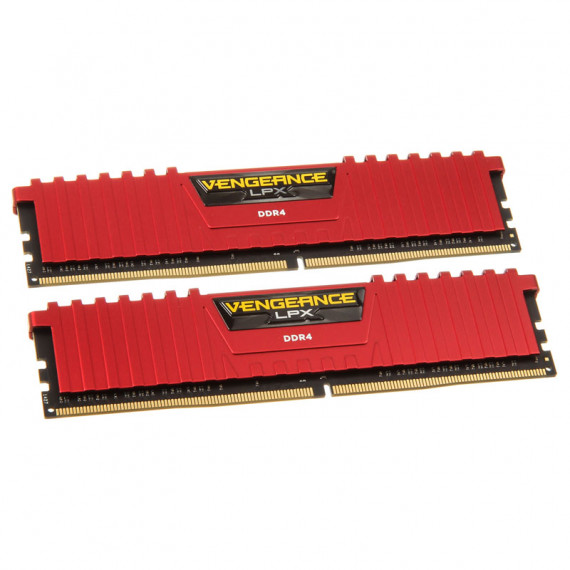 CORSAIR Vengeance LPX Series Low Profile 16 Go (2x 8 Go) DDR4 2666 MHz CL16 Rouge