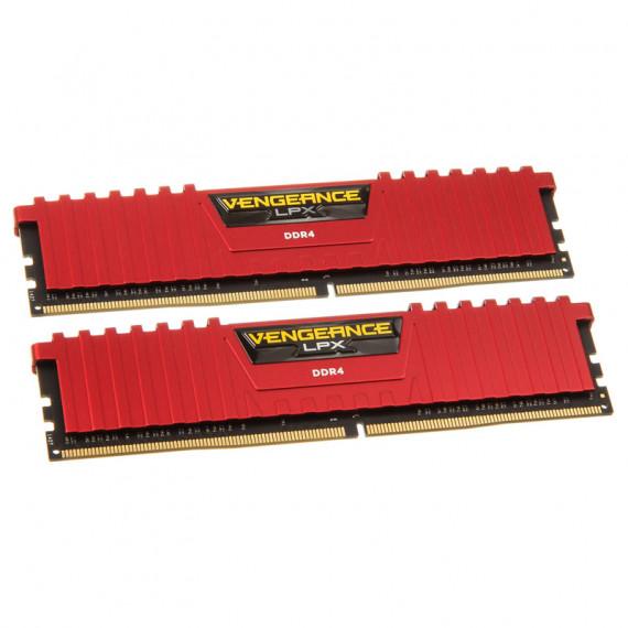 CORSAIR Vengeance LPX Series Low Profile 16 Go (2x 8 Go) DDR4 3200 MHz CL16 Rouge