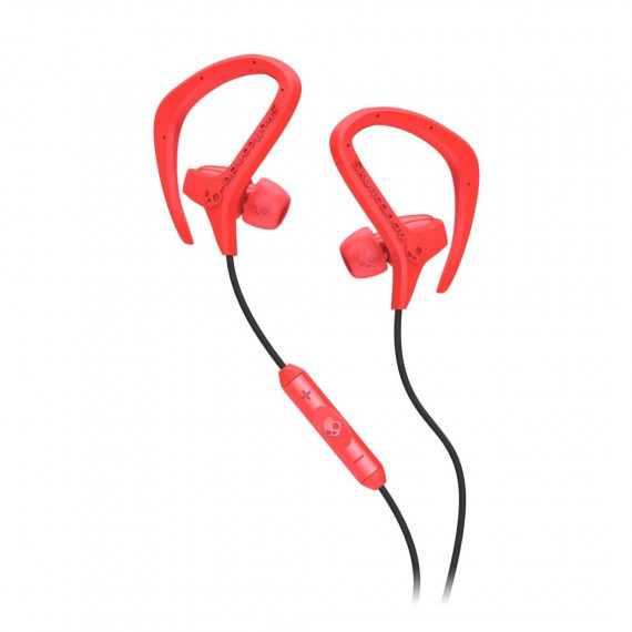 Skullcandy Ecouteurs stéréo SKULLCANDY CHOPS BLACK / HOT RED