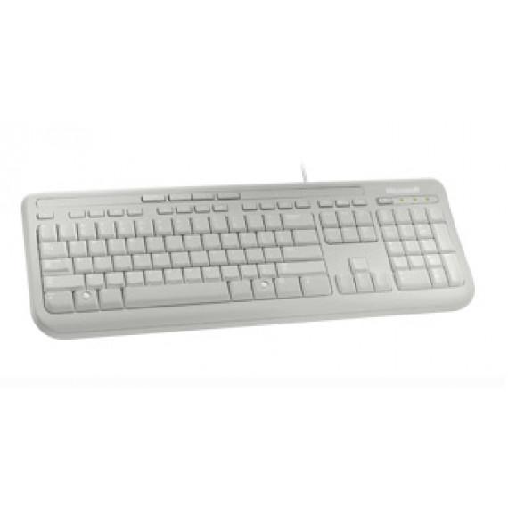 Microsoft Wired Keyboard 600 Blanc
